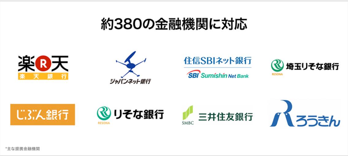 QUOINEXクイック入金対応銀行