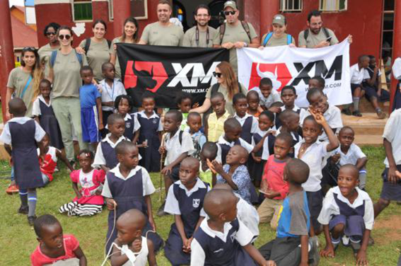 XMのウガンダでの慈善事業
