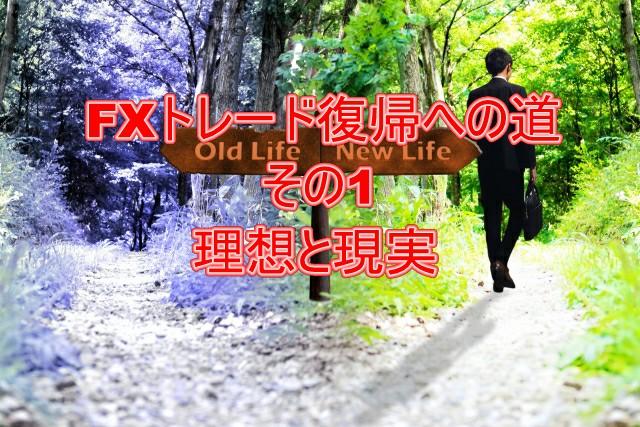 FXトレード復帰への道