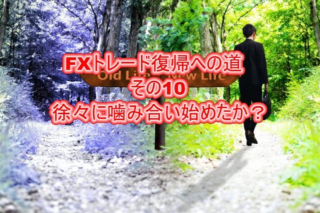 FXトレード復帰への道その10